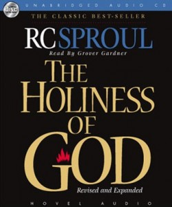 The Holiness of God audio book cover