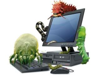 computer virus attack