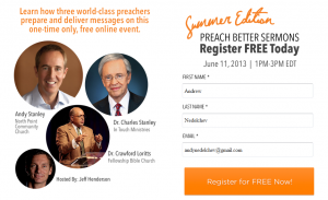 Preach Better Sermons - Summer 2013